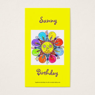 Sunny Birthday Series #4