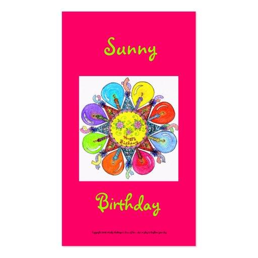 Sunny Birthday Series #7 Business Card