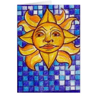 Sunny Blues Card