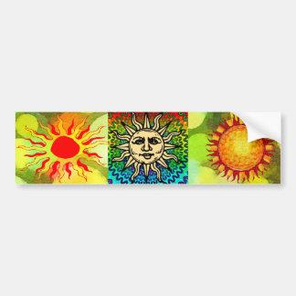 Sunny Bumper Sticker