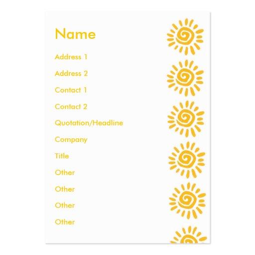 Sunny | business card template