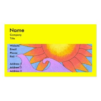 Sunny Business Card Template