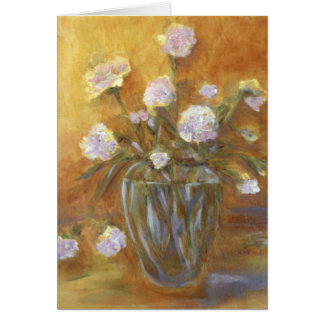 """Sunny Carnations"" Art Card"