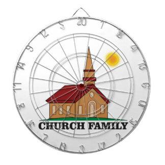 sunny church family dartboard