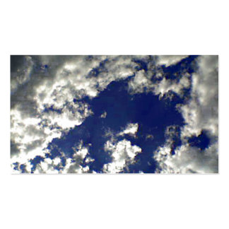 Sunny Clouds Mix Pack Of Standard Business Cards