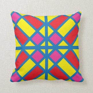 Sunny Coloured Glass Tile Pillow