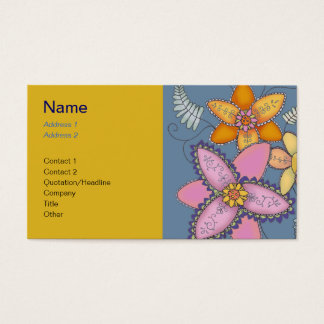 Sunny Daffodil Business Cards