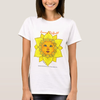 Sunny Daffodil  - Ladies T-shirt (yellow)
