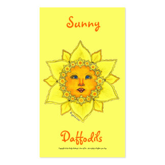 Sunny Daffodil Series #1 Pack Of Standard Business Cards