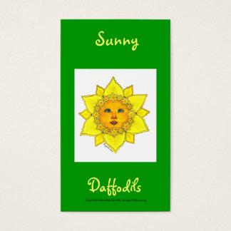 Sunny Daffodil Series #4 Business Card