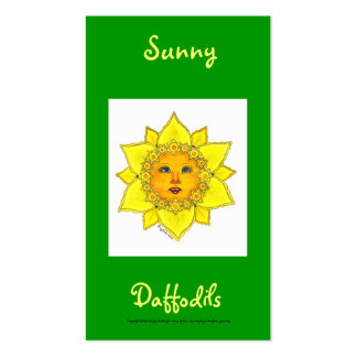 Sunny Daffodil Series #4 Pack Of Standard Business Cards