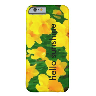 sunny daffodils barely there iPhone 6 case