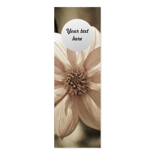 Sunny Dahlia Business Card Template