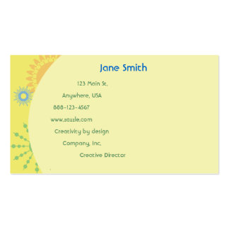 Sunny Dandelion Business Cards