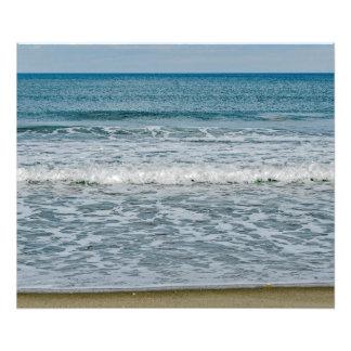 Sunny Day at the Atlantic Ocean in Florida Photo Print