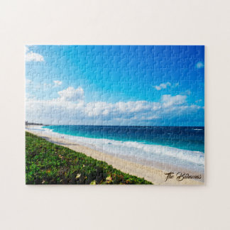 Sunny Day At The Beach Jigsaw Puzzle
