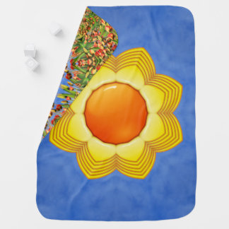 Sunny Day Colorful Baby Blankets Baby Blanket