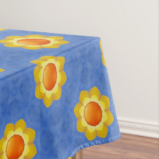 Sunny Day Colorful Cotton Tablecloth