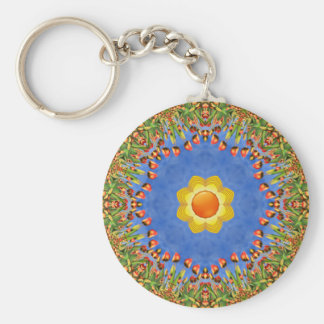 Sunny Day Colorful Keychains