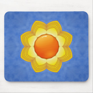 Sunny Day Colorful  Vintage Mousepad