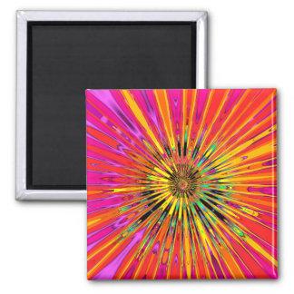 Sunny Day Fractal Magnet