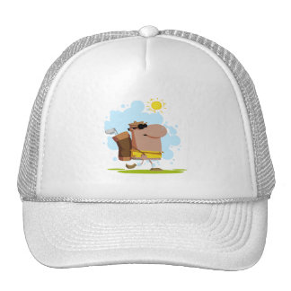 Sunny Day Golf - African American Trucker Hat