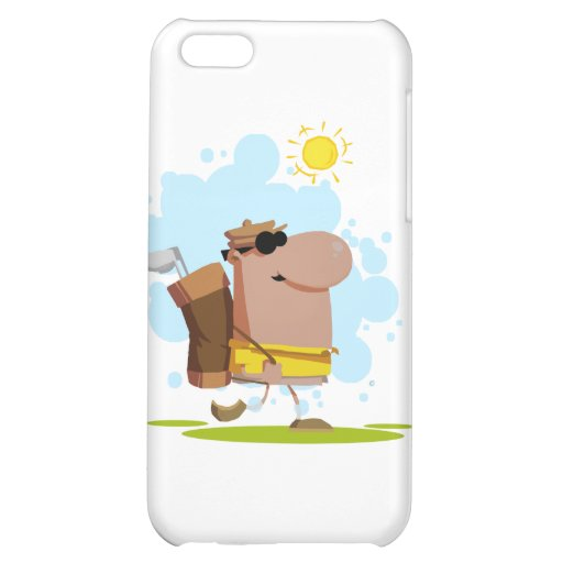 Sunny Day Golf - African American Case For iPhone 5C