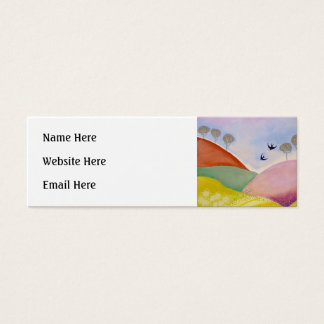 Sunny Day in the Country. Mini Business Card
