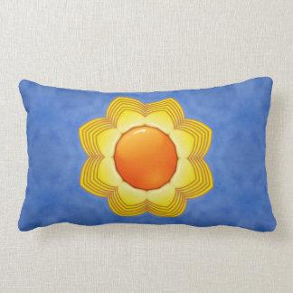 Sunny Day Kaleidoscope Pattern Lumbar Pillows