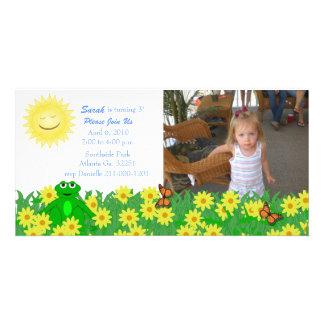 Sunny Day Photo Card Party Invitation