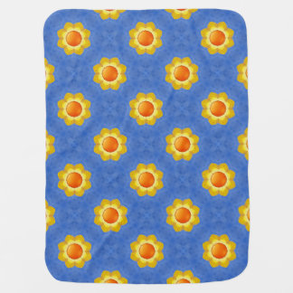 Sunny Day  Tiled Design Baby Blankets Receiving Blanket