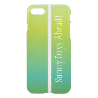 Sunny Days Ahead iPhone 7 Case