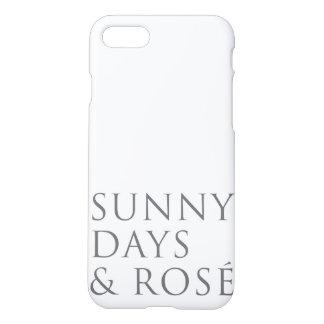 Sunny Days & Rosé iPhone 7 Case