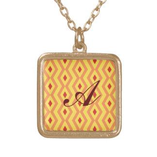 Sunny Diamond Zigzag Necklace