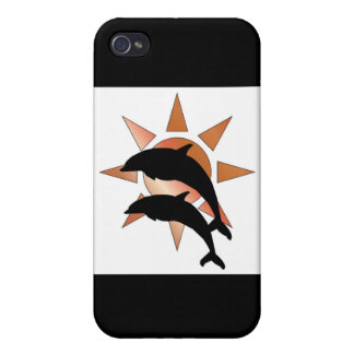 Sunny Dolphin iPhone 4/4S Cases