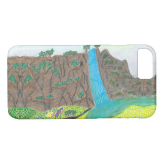 Sunny Falls Cliff and Meadow Scenic Smart Case