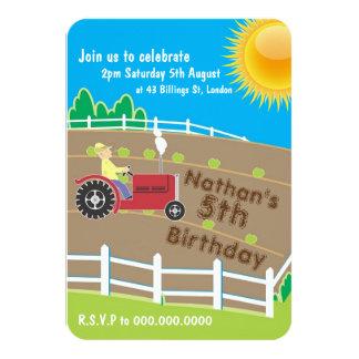 Sunny Farm 9 Cm X 13 Cm Invitation Card