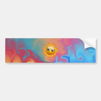 Sunny Fire & Ice Bumper Sticker Car Bumper Sticker