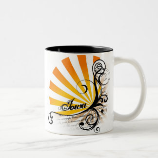 Sunny Floral Graphic Iowa Mug