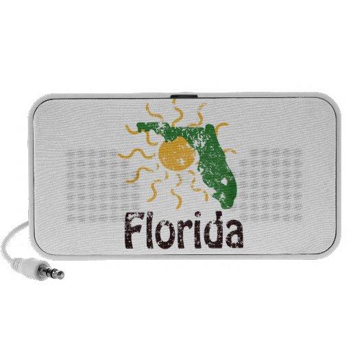 Sunny Florida Logo Doodle PC Speakers