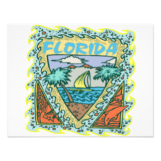 Sunny Florida Vacation Announcement