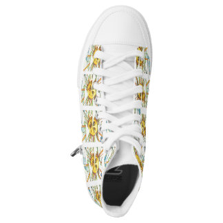 Sunny High Tops Printed Shoes