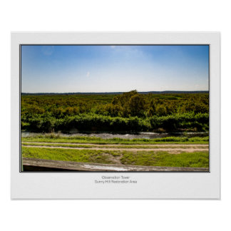 Sunny Hill Observation Tower Poster