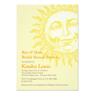 Sunny Invitation
