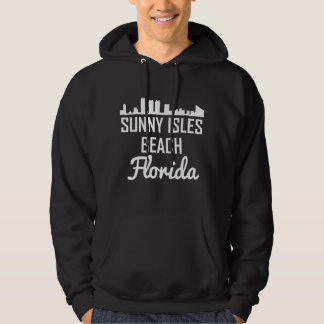 Sunny Isles Beach Florida Skyline Hoodie