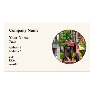 Sunny Morning Alexandria VA Business Card Template