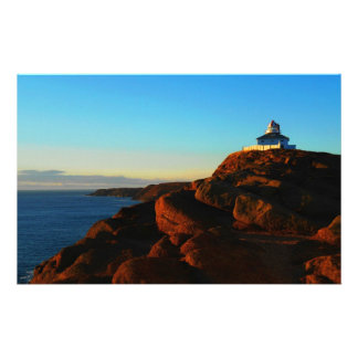Sunny Morning At Cape Spear Personalized Stationery