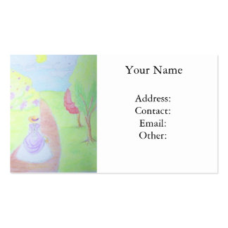 Sunny Morning Walk Business Cards