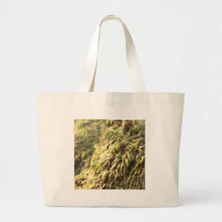 Sunny Moss and Worts Large Tote Bag