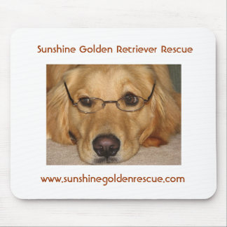 Sunny  Mousepad - SunshineGolden Retriever Rescue